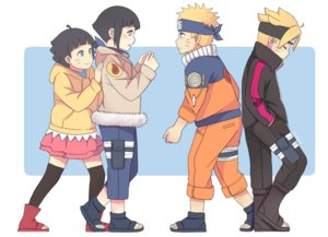 Rating: Safe Score: 16 Tags: black_hair blonde_hair blue_eyes blush group headband hyuuga_hinata loli male naruto purple_eyes short_hair skirt thighhighs uzumaki_boruto uzumaki_himawari uzumaki_naruto yuibeth User: RyuZU