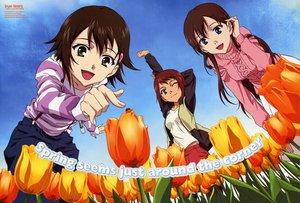 Rating: Safe Score: 6 Tags: ando_aiko isurugi_noe spring true_tears yuasa_hiromi User: 秀悟