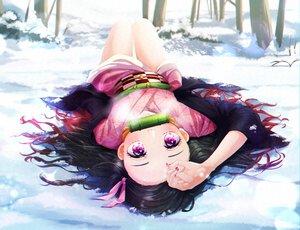 Rating: Safe Score: 56 Tags: gag hinashi japanese_clothes kamado_nezuko kimetsu_no_yaiba kimono snow User: FormX