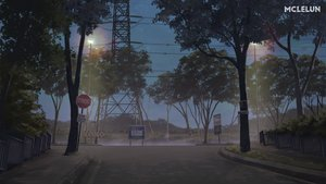 Rating: Safe Score: 39 Tags: mclelun night nobody original scenic sky tree watermark User: RyuZU