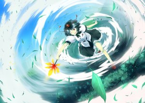 Rating: Safe Score: 44 Tags: leaves shameimaru_aya sinzan touhou User: FormX
