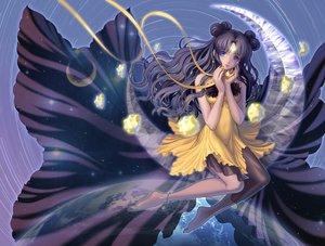 Rating: Safe Score: 101 Tags: barefoot black_hair blue_eyes dress earth eclosion luna_(sailor_moon) moon planet sailor_moon User: FormX