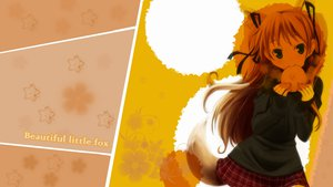 Rating: Safe Score: 43 Tags: animal_ears foxgirl kanon photoshop sawatari_makoto tail User: feiyuelisky