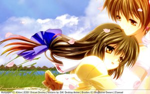 Rating: Safe Score: 21 Tags: clannad ibuki_fuuko ibuki_kouko User: pantu