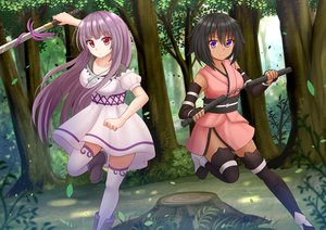 Rating: Safe Score: 29 Tags: 2girls kazenokaze original User: luckyluna
