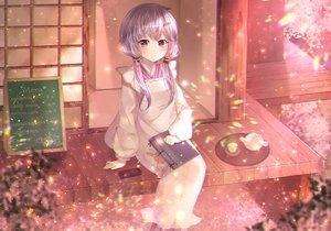 Rating: Safe Score: 23 Tags: book drink ipod japanese_clothes long_hair narami purple_eyes purple_hair twintails vocaloid voiceroid yuzuki_yukari User: RyuZU