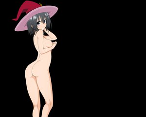 Rating: Questionable Score: 164 Tags: ass black_hair blush breasts kirisaki_kyouko nipples nude short_hair to_love_ru to_love_ru_darkness transparent vector User: Wiresetc