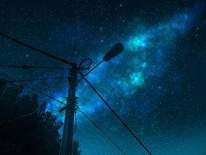 Rating: Safe Score: 18 Tags: mclelun night nobody original scenic sky stars watermark User: RyuZU