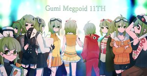 Rating: Safe Score: 17 Tags: gomiyama gumi vocaloid User: mattiasc02