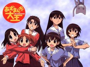Rating: Safe Score: 13 Tags: azumanga_daioh kagura kamineko kasuga_ayumu mihama_chiyo mizuhara_koyomi sakaki takino_tomo User: Oyashiro-sama
