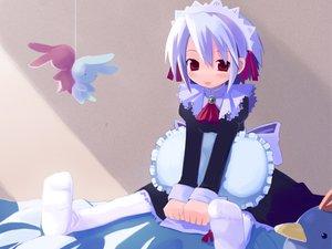 Rating: Safe Score: 21 Tags: bunny harada_takehito kotonomiya_yuki maid suigetsu User: Oyashiro-sama