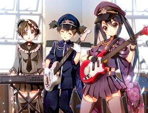 Rating: Safe Score: 82 Tags: guitar hirasawa_ui instrument k-on! nakano_azusa nyoronyoro senbon-zakura_(vocaloid) suzuki_jun User: mikuna