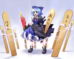 Rating: Safe Score: 19 Tags: advent_cirno cirno hidamarinet keroro_gunsou sergeant_keroro touhou User: SciFi