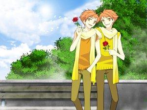 Rating: Safe Score: 18 Tags: hitachiin_hikaru hitachiin_kaoru ouran_koukou_host_club twins User: pantu