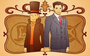 Rating: Safe Score: 35 Tags: crossover gyakuten_saiban phoenix_wright professor_layton User: garypan
