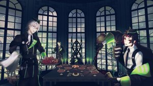 Rating: Safe Score: 5 Tags: all_male group male signed tagme_(artist) uniform vampire User: kyxor