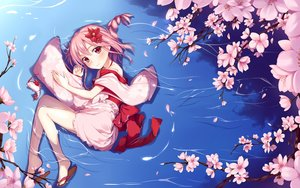 Rating: Safe Score: 158 Tags: anthropomorphism braids cherry_blossoms flowers japanese_clothes lolita_fashion long_hair petals pink_hair red_eyes sergestid_shrimp_in_tungkang spring water xuan_ying yaguo User: Flandre93