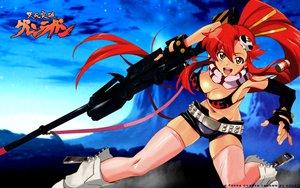 Rating: Safe Score: 20 Tags: gun long_hair red_hair tengen_toppa_gurren_lagann weapon yellow_eyes yoko_littner User: 秀悟