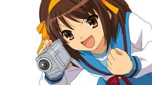 Rating: Safe Score: 23 Tags: camera suzumiya_haruhi suzumiya_haruhi_no_yuutsu vector white User: Oyashiro-sama