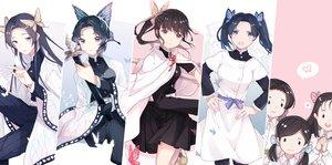 Rating: Safe Score: 29 Tags: butterfly kanzaki_aoi kimetsu_no_yaiba kochou_kanae kochou_shinobu nakahara_sumi takada_naho terauchi_kiyo tsuyuri_kanao ying_weiyu User: FormX