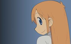 Rating: Safe Score: 7 Tags: blue_eyes gradient hakase_(nichijou) long_hair nichijou orange_hair vector User: RyuZU