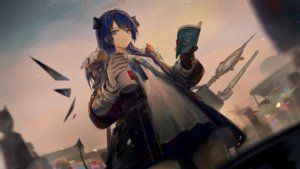 Rating: Safe Score: 31 Tags: arknights blue_eyes blue_hair book game_cg gloves halo horns huanxiang_heitu long_hair mostima_(arknights) tail wings User: Nepcoheart