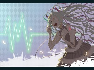 Rating: Safe Score: 49 Tags: hatsune_miku sansyokutansi vocaloid User: HawthorneKitty
