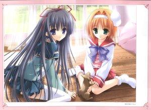 Rating: Safe Score: 11 Tags: 2girls inatsuki_nanami nagase_sayaka soul_link tinkle User: 秀悟