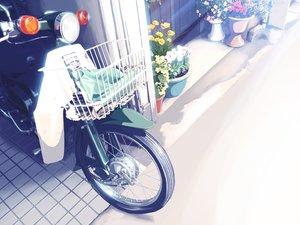 Rating: Safe Score: 33 Tags: flowers motorcycle nobody original yonasawa User: RyuZU