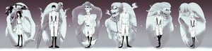 Rating: Safe Score: 12 Tags: annie_leonhardt armored_titan beast_titan bertholt_fubar colossal_titan female_titan group harmaki male military monochrome pieck porco_galliard reiner_braun shingeki_no_kyojin uniform zeke_yeager User: FormX