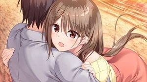 Rating: Safe Score: 19 Tags: close game_cg hibiki_works hug male oryou re_cation_~melty_healing~ tsubaki_hinako User: mattiasc02