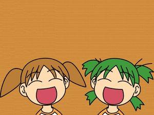 Rating: Safe Score: 12 Tags: azumanga_daioh chibi koiwai_yotsuba mihama_chiyo yotsubato! User: Oyashiro-sama