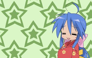 Rating: Safe Score: 2 Tags: izumi_konata japanese_clothes lucky_star yukata User: Oyashiro-sama