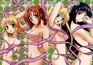 Rating: Questionable Score: 39 Tags: happiness hiiragi_anri kamisaka_haruhi kohinata_sumomo nude ribbons takamine_koyuki User: 秀悟