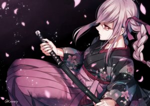 Rating: Safe Score: 50 Tags: dangan-ronpa dangan-ronpa_2 glasses japanese_clothes katana kimono pekoyama_peko sakuyu signed sword weapon User: mattiasc02