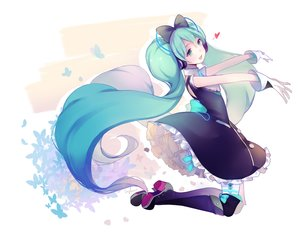 Rating: Safe Score: 98 Tags: hatsune_miku long_hair slyvia vocaloid User: FormX