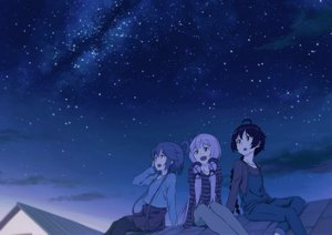 Rating: Safe Score: 34 Tags: luo_tianyi night sky stars tomato_(lsj44867) vocaloid vocaloid_china xingchen yuezheng_ling User: FormX