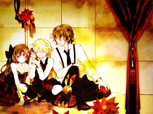 Rating: Safe Score: 15 Tags: alice_(pandora_hearts) gilbert_nightray oz_vessalius pandora_hearts User: Maboroshi