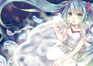 Rating: Safe Score: 74 Tags: dress emilion hatsune_miku vocaloid User: FormX
