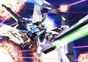 Rating: Safe Score: 54 Tags: gun mecha mobile_suit_gundam raybar space tagme weapon User: opai