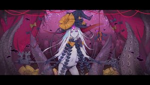 Rating: Questionable Score: 31 Tags: abigail_williams_(fate/grand_order) bow doll elbow_gloves fate/grand_order fate_(series) gloves hanging hat long_hair navel panties pink_eyes rope seelean tentacles topless underwear white_hair witch witch_hat User: otaku_emmy