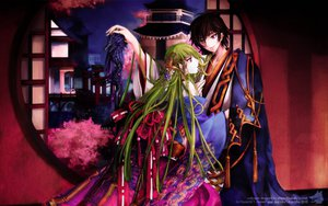 Rating: Safe Score: 46 Tags: cc code_geass green_hair japanese_clothes lelouch_lamperouge User: Chiyu