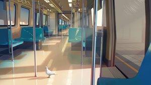 Rating: Safe Score: 73 Tags: aliasing animal bird nobody original realistic train vofan User: RyuZU