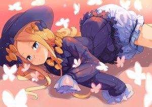Rating: Safe Score: 23 Tags: abigail_williams_(fate/grand_order) aqua_eyes blonde_hair bloomers blush bow butterfly fate/grand_order fate_(series) goth-loli hat loli lolita_fashion long_hair tagme_(artist) User: luckyluna