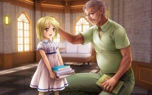 Rating: Safe Score: 15 Tags: blonde_hair dress higurashi_no_naku_koro_ni loli moonknives tanashi_miyoko User: gnarf1975