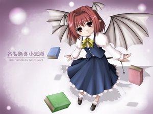 Rating: Safe Score: 1 Tags: demon koakuma pointed_ears touhou wings User: Oyashiro-sama