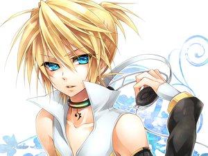 Rating: Safe Score: 31 Tags: all_male kagamine_len len_append male ueno_tsuki vocaloid User: HawthorneKitty