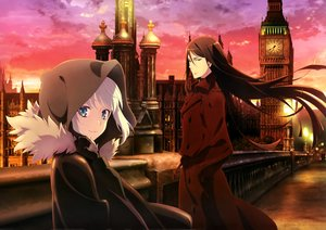 Rating: Safe Score: 46 Tags: blue_eyes building cape city clouds fate_(series) gray_hair gray_(lord_el-melloi_ii) lord_el-melloi_ii lord_el-melloi_ii_case_files male scan short_hair sky sunset tagme_(artist) User: RyuZU