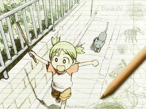 Rating: Safe Score: 19 Tags: koiwai_yotsuba photo sketch yotsubato! User: 秀悟