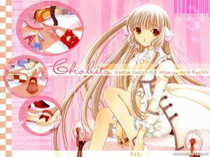 Rating: Safe Score: 21 Tags: blonde_hair chii chobits clamp dress long_hair User: Oyashiro-sama